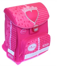 Школьный ранец Herlitz Smart Girls Pink Heart