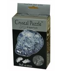 3D пазл Crystal Puzzle Череп Серебристый