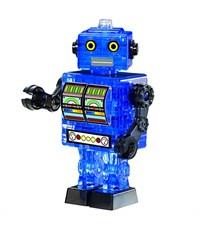 3D головоломка Crystal Puzzle Робот синий