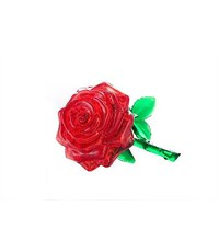 3Д пазл Crystal Puzzle Роза красная