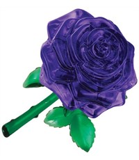 3D головоломка Crystal Puzzle Роза пурпурная 90413