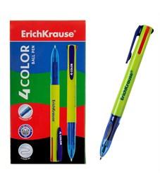 Автоматическая ручка 4 цвета Erich Krause 4 COLOR 0.7 мм