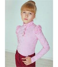 Блуза школьная Инфанта розовый 0670