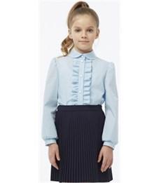 Блузка для девочки Смена 3Б315 голубая