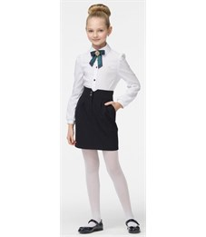 Блузка для девочки Смена А3Б073 белый