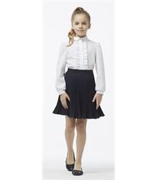 Блузка для девочки Смена Б315 белая