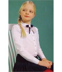 Блузка школьная нарядная Маленькая леди 1337-516-вхб-э