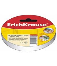 Двусторонняя клейкая лента Erich Krause 12мм х 10м