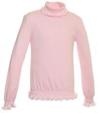 Джемпер розовый Снег ажурный с отд. резинкой длинный рукав