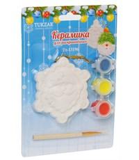 Керамический сувенир для раскрашивания Tukzar Дед Мороз