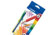 Акварельные карандаши 12 цв.+кисть