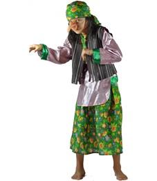 Карнавальный костюм Карнавалия Бабка Ежка
