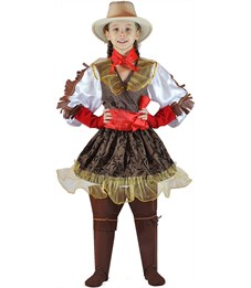 Карнавальный костюм Карнавалия Ковбойка