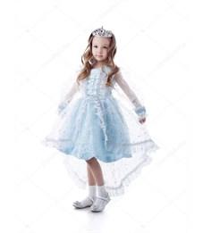 Карнавальный костюм Батик Снежинка Принцесса