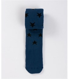Колготки детские махровые Mark Formelle 702K-265 джинсовый Звёзды