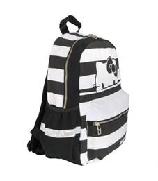 Рюкзак молодежный Action! HKO-AB1293/2 Hello Kitty чёрно-белая полоска