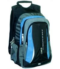 Молодежный спортивный рюкзак Ufo people c бирюзовыми вставками