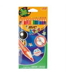 Набор цветн. каранд BIC EVOLUTION 12 цв. шестигранные пластик