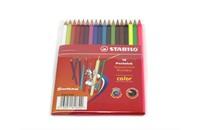 Набор цветных карандашей Stabilo, 18 цветов (15+3)