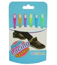 Цветные резиновые шнурки 6 штук
