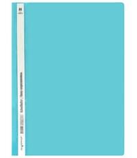 Папка-скоросшиватель Silwerhof Classic А4, морская волна
