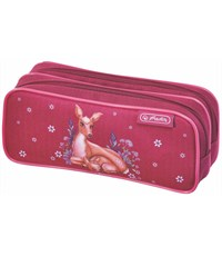 Пенал-косметичка Herlitz Girls mix III Deer Family 11438199 без наполнения
