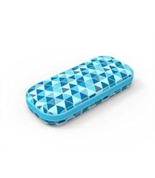 Пенал школьный Zipit Colorz Box голубой