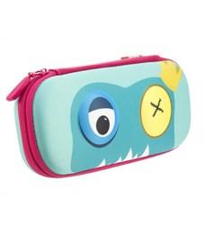 Пенал школьный Zipit Beast Box голубой