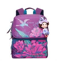 RA-672-1 Рюкзак школьный фиолетовый