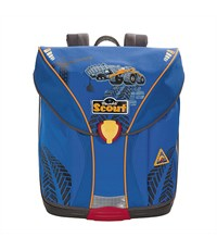 """Школьный рюкзак Scout Nano Style """"Трактор"""" с наполнением"""