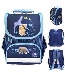 Ранец школьный Action! Animal Planet Too Cute синий