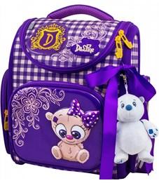 Ранец школьный DeLune 3-157 + мешок + мишка
