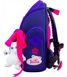 Фото 2. Ранец школьный DeLune Цветы 6-117 + мешок + мишка