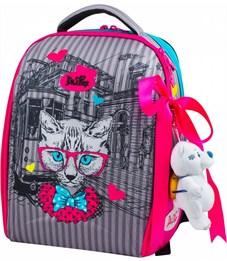Ранец школьный DeLune 7-142 + мешок + мишка