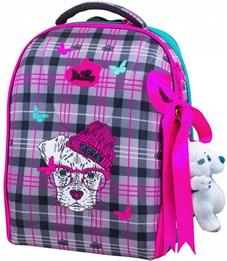 Ранец школьный DeLune 7-143 + мешок + мишка