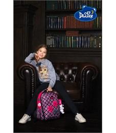 Фото 9. Ранец школьный DeLune Цветы 7mini-001 + мешок + пенал + мишка