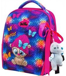 Ранец школьный DeLune 7mini-011 + мешок + пенал + мишка