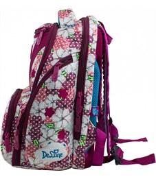 Фото 2. Ранец школьный DeLune Цветы 8-102 + мешок