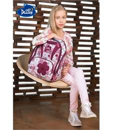 Фото 9. Ранец школьный DeLune Цветы 8-102 + мешок