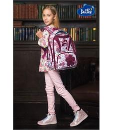 Фото 10. Ранец школьный DeLune Цветы 8-102 + мешок