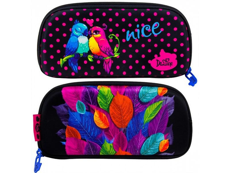 Ранец школьный DeLune Попугайчики 9-114 + мешок + пенал + мишка