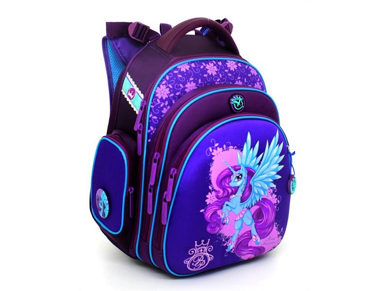 Ранец школьный Hummingbird TK34 Unicorn Pony + мешок