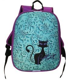 Ранец школьный каркасный Stavia Черная кошка