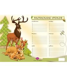 Расписание уроков Erich Krause A4 Бемби