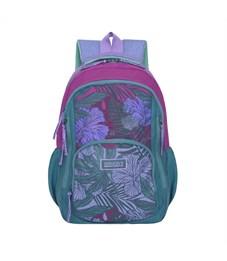 RD-754-1 Рюкзак школьный Grizzly зеленый-малиновый