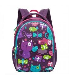RG-868-1 Рюкзак школьный Grizzly (/1 фиолетовый)