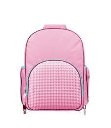Рюкзак детский пиксельный на роликах Upixel Super Class Rolling Backpack WY-A024 Розовый