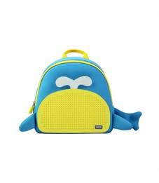 Рюкзак детский пиксельный Upixel Китёнок WY-A030 Синий-Желтый