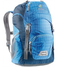 Рюкзак дошкольный Deuter Junior голубая клетка
