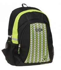 Рюкзак городской Dr. Kong черно/зеленый